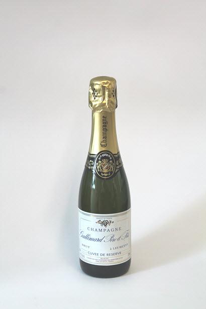 CHAMPAGNE GALLIMARD - Cuvée de Réserve - Brut     375 ml.