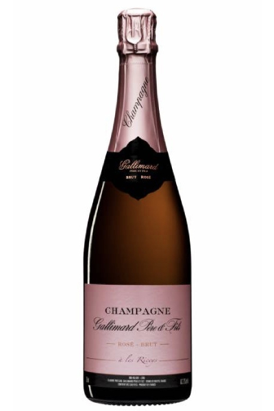 CHAMPAGNE GALLIMARD - Cuvée Rosé - Brut