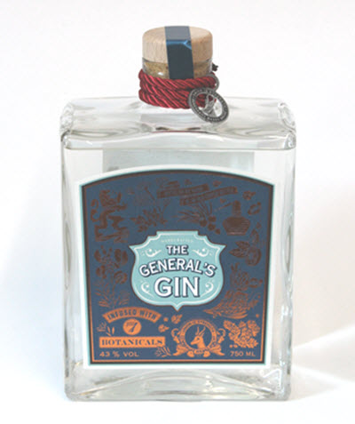 THE GENERALS GIN - South Africa