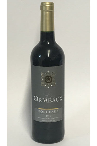 LES ORMEAUX - Bordeaux AOP - Rouge